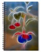 Electrifying Fuchsia Spiral Notebook