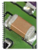Electronics Board With Lead Solder Spiral Notebook