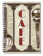 Elegant Bistro 2 Spiral Notebook