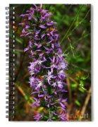 Elegant Liatris Spiral Notebook