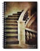 Elegant Staircase Spiral Notebook