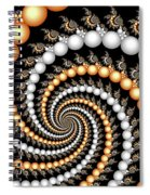 Elegant Swirls Spiral Notebook