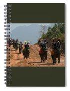 Elephant Rides Spiral Notebook