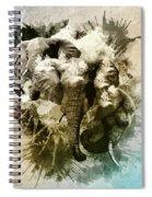 Elephants Gone Wild Spiral Notebook