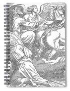 Elijahs Ascent To Heaven Spiral Notebook
