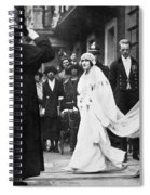 Elizabeth Bowes-lyon Spiral Notebook