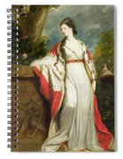 Elizabeth Gunning - Duchess Of Hamilton And Duchess Of Argyll Spiral Notebook