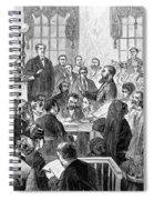 Elizabeth Wharton Trial Spiral Notebook