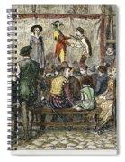 Elizabethan Theatre Spiral Notebook