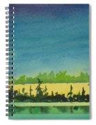 Elk Island Sundown 2 Spiral Notebook