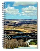 Elk Mountain Ski Resort Spiral Notebook