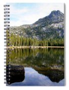 Elkhorn Mountain Reflection Spiral Notebook