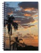 Ellery Sunrise Spiral Notebook