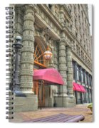 Ellicott Square Building And Hsbc Spiral Notebook