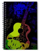 Elvis Gibson J200 Guitar Spiral Notebook