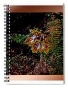 Elwha Leaf Spiral Notebook