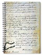 Emancipation Proc., P. 4 Spiral Notebook
