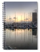 Embarcadero Marina   Spiral Notebook