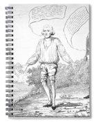 Embargo Repeal, 1809 Spiral Notebook