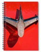 Emblem On Red 2 Spiral Notebook