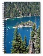 Emerald Bay Vertical Spiral Notebook