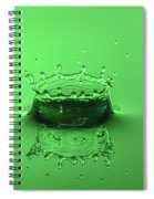 Emerald Crown Spiral Notebook