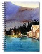 Emerald Lake Lodge B.c Spiral Notebook