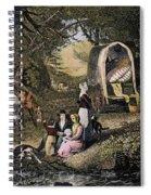 Emigrants: Appalachians Spiral Notebook