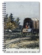 Emigrants To Ohio, 1805 Spiral Notebook