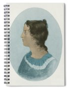 Emily Bronte, English Author Spiral Notebook