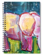 Emily's Elephant 1 Spiral Notebook