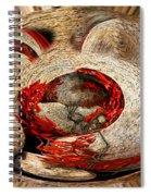 Emotional Upheaval II Spiral Notebook