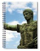 Emperor Caesar Augustus Spiral Notebook
