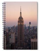 Empire Sunset Spiral Notebook