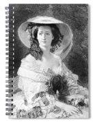 Empress Eugenie Of France Spiral Notebook
