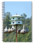 Empty Nests Spiral Notebook