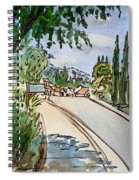 Empty Road Sketchbook Project Down My Street Spiral Notebook