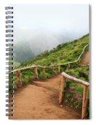 Empty Walking Trail Spiral Notebook