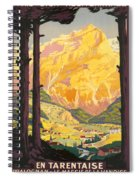 En Tarentaise - Vintage French Travel Spiral Notebook
