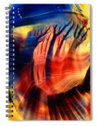 Encaustic 467 Spiral Notebook