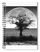 Enchanted Moon Spiral Notebook