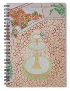 Enchanting Garden Spiral Notebook