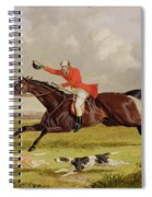Encouraging Hounds Spiral Notebook