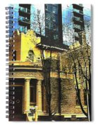 Encroached Spiral Notebook