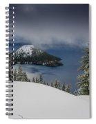 Encroaching Storm Spiral Notebook