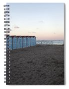 End Of Day - Mondello Beach Spiral Notebook
