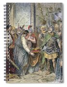 End Of Roman Empire Spiral Notebook