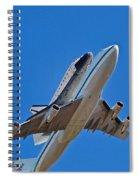 Endeavour's Last Flight Spiral Notebook