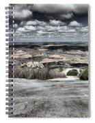Endless Clouds Spiral Notebook