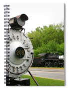 Engine 208 Spiral Notebook